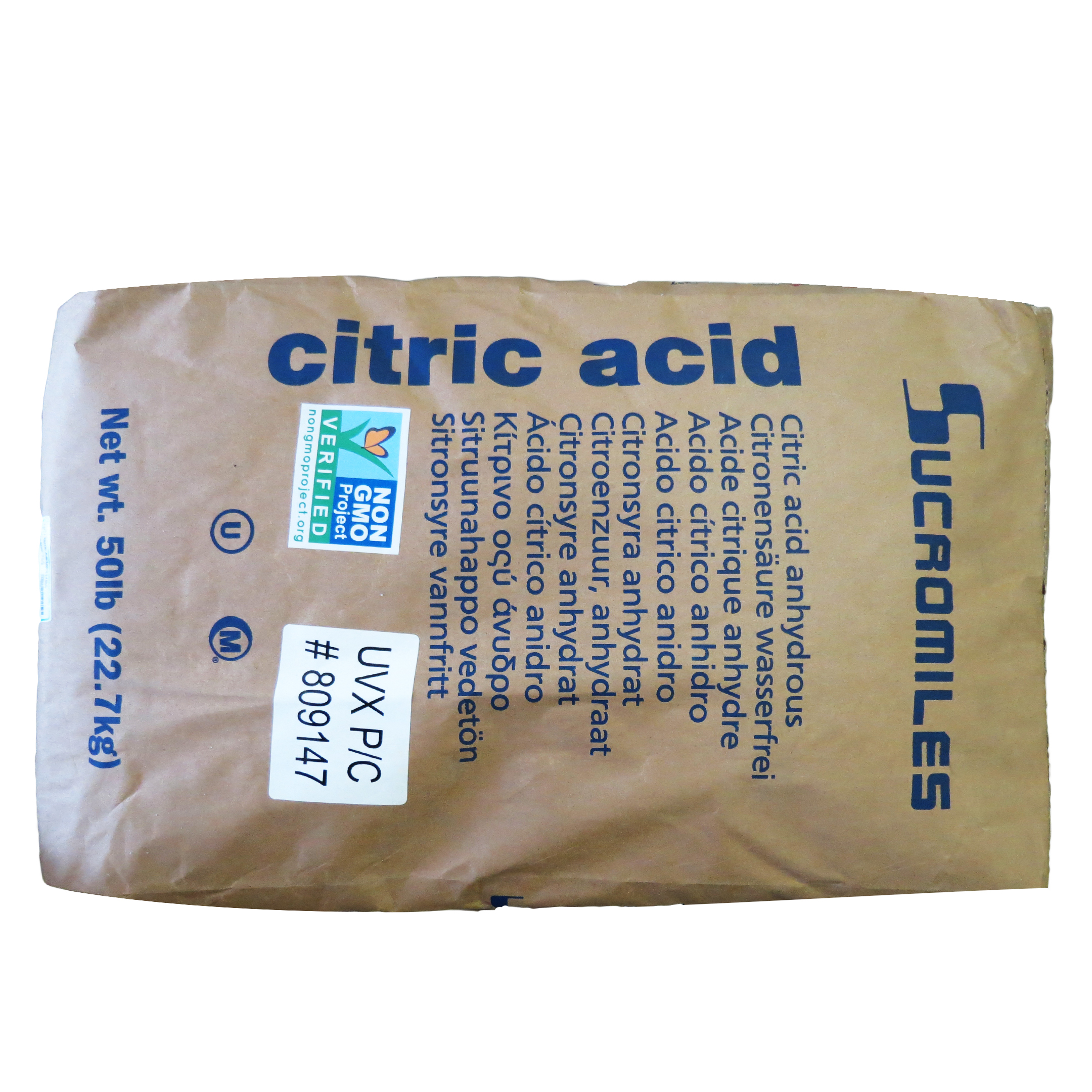 50 lb Bag of Citric Acid