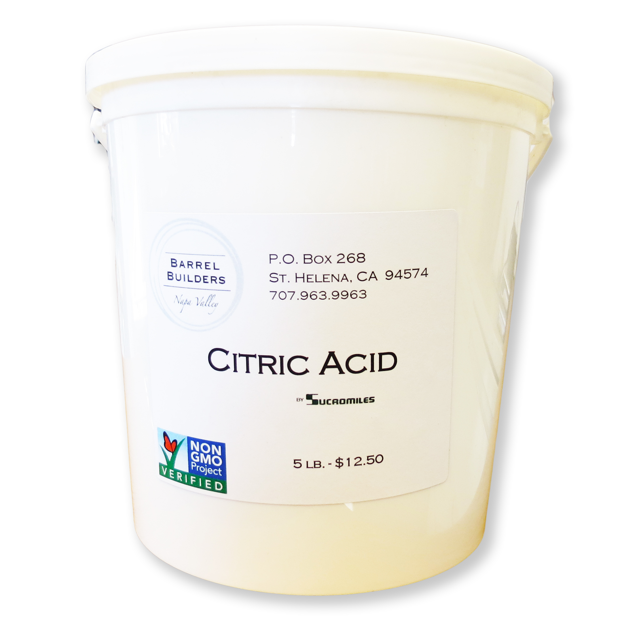 5 lb Pail of Citric Acid